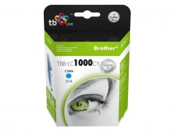 Tusz do Brother LC1000CY TBB-LC1000CY CY 100% nowy
