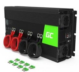Green Cell Przetwornica 12V/230V 3000W/6000W Mod sinus