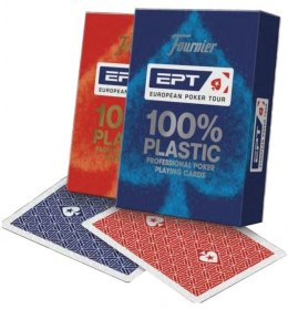 Bicycle Karty Fournier EPT 100% Plastik