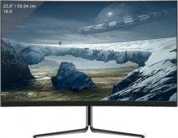"Monitor gamingowy LC-POWER LC-M24-FHD-144-C-V2 23,6"" VA FHD 144Hz Curved, 1xDP/2xHDMI, Audio out, FreSync, Low Blue"
