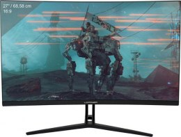 "Monitor gamingowy LC-POWER LC-M27-FHD-144-C 27"" VA FHD 144Hz Curved, 2xHDMI/1xDP, głośniki, FreSync, Overdrive, Low Blue"