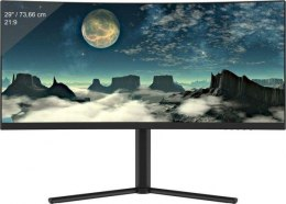 "Monitor gamingowy LC-POWER LC-M29-UW-UXGA-100-C 29"" VA UW-UXGA 100Hz Curved, HDMI/DP/DVI Audio out, FreSync, Overdrive, Low Blue"