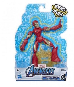 Hasbro Figurka Avengers Band and Flex Iron Man
