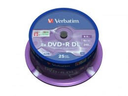 DVD+R 8x 8.5GB 25P CB Double Layer 43757
