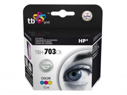 Tusz do HP DJ D730/F735 (HP nr 703 CD888AE) TBH-703CR Kolor ref.