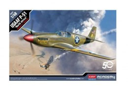 Academy Plastikowy model USAAF P-51 North Africa