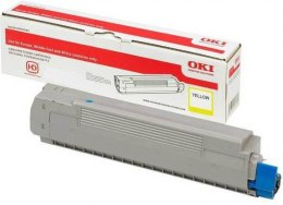 OKI Toner do C532/MC573 Yellow 1.5K 46490401 oryginalny