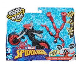 Hasbro Figurka Spiderman Band and Flex Pojazd