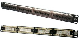 Patch panel CAT5e 24-porty