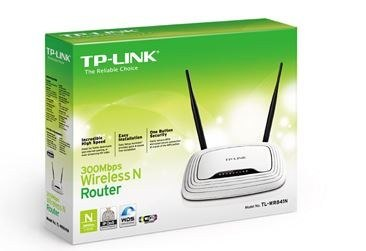 TP-LINK TL-WR841N router xDSL WiFi N300 (2.4GHz) 2x5dBi (SMA)