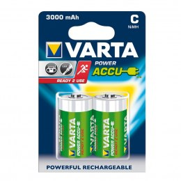 AKUMULATORY VARTA R14 (typC) 3000 mAh 2szt ready 2 use