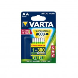 AKUMULATORY VARTA R6 2600 mAh 2szt professional ready 2 use