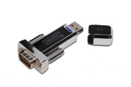Digitus Konwerter/Adapter USB 1.1 do RS232 (DB9) z kablem Typ USB A M/Ż 80cm