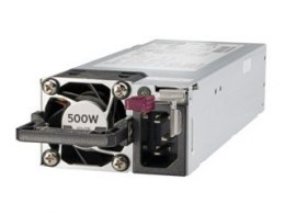 Hewlett Packard Enterprise 500W Flex Slot Platinum Hot Plug Low Halogen Power Supply Kit 865408-B21