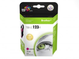 Tusz do Brother LC123 TBB-LC123M MA