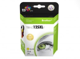 Tusz do Brother LC125XL TBB-LC125XLY YE