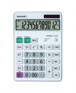 SHARP CALCULATOR DESKTOP BOX EL340W