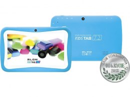 BLOW Tablet KidsTAB7.4HD2 quad niebieski + etui