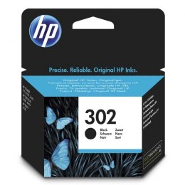 HP oryginalny ink / tusz F6U66AE, HP 302, black, 190s, 3.5ml, HP OJ 3830,3834,4650, DJ 2130,3630,1010, Envy 4520