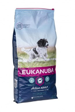 Karma EUKANUBA Adult Medium Breeds Chicken (15 kg )