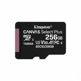 Kingston Karta pamięci microSD 256GB Canvas Select Plus 100/85MB/s Adapter SDCS2/256GB