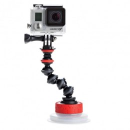 Uchwyt Suction Cup and GorillaPod Arm Black/Red
