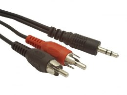 Kabel MINIJACK/2XRCA (CHINCH)M/M 5M