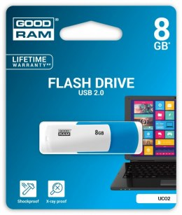 GOODRAM COLOR MIX 8GB PENDRIVE USB2.0