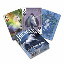 Bicycle Karty Anne Stokes Unicorns