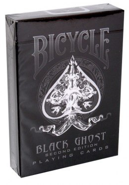 Bicycle Karty Black Ghost