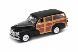 Welly Model kolekcjonerski 1948 Chevrolet Fleetmaster, czarny