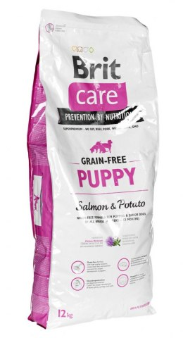 Karma Brit Grain Free Puppy Salmon & Potato (12 kg )