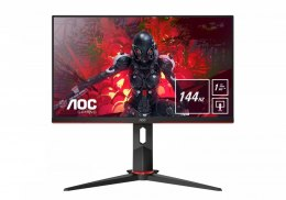 AOC Monitor 23.8 24G2U/BK IPS 144Hz 1ms DP HDMI Pivot
