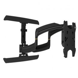Thinstall? Swing Arm Wall Mount. Dual wall plate. Up to 600x400 mm VESA. Weight capacity 34 Kg, Black